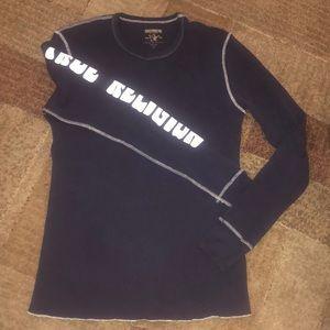 True Religion Waffle Long Sleeve Shirt